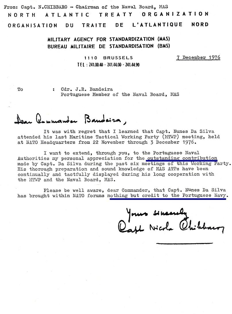 00791 976-12-07 a carta do Chairman do MAS Naval Board com o elogio da minha contribuição