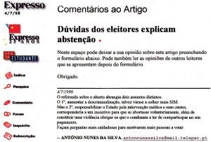 0074 aborto -Exp onl 4-7-1998
