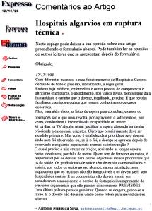 0103 atendimento nos hospitais -Exp onl 12-12-1998