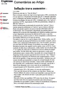 0113 pensões e saúde -Exp onl 23-1-1999