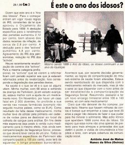 0114 pensões e saúde -CM 29-1-1999