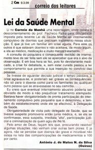 0139 Reservas à Lei de Saúde Mental -CM 9-3-1999
