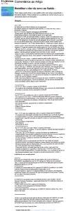 0260 Saúde, INFARMED e novos medicamentos -Expr onl 24-11-1999