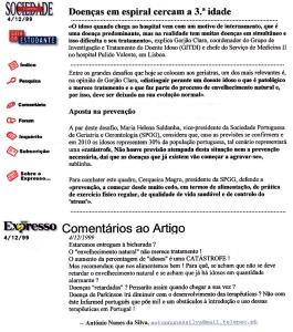 0267 que fazer dos idosos -Expr onl 4-12-1999