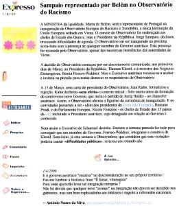 0330 UE humilha governo austríaco -Expr onl 1-4-2000