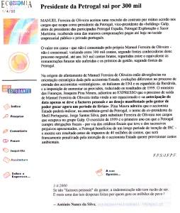 0331 gestor sai com indemnização astronómica -Expr onl 1-4-2000