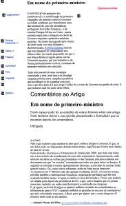 0338 Guterres delega funções de 1º M a Jorge Coelho e despesismo -Expr onl 8-4-2000