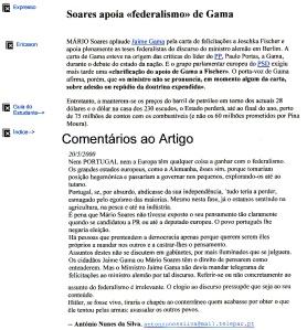 0353 federalismo de Gama e Soares -Expr onl 20-5-2000