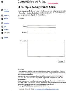 0367 plafonamento na Segurança Social -Expr onl 17-6-2000