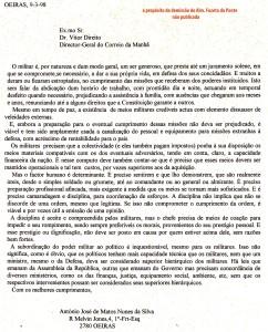 0065 militares e poder político -carta a CM 9-3-1998