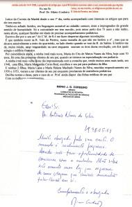 0066 Agatão Lança e Mário Cordeiro -cartas 14-4-1998