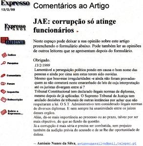 0123 perseguição política -Exp onl 13-2-1999