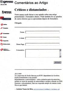 0125 entrevista de Barroso à RTP -Exp onl 20-2-1999