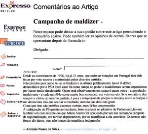 0170 Mário Soares na Madeira Expr onl 22-5-1999