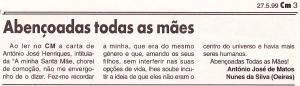 0174 Dia da Mãe  -CM 27-5-1999