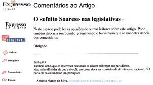 0180 candidatura de Soares à presidência do Parlamento Europeu -Exr onl 16-6-1999