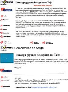 0213 esgotos lançados ao Tejo -Expr onl 28-8-1999 - Copy