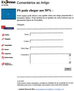 0234 sondagem eleitoral -Expr onl 2-10-1999