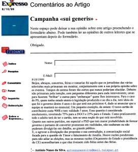 0242 campanha eleitoral -Expr onl 9-10-1999