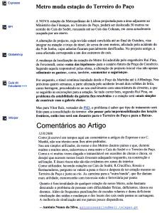 0388 estação do Metro do Terreiro do Paço 12-8-2000 Expr onl