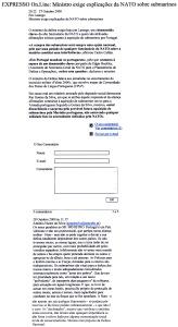 0419 aquisição de submarinos -Expr onl 28-10-2000