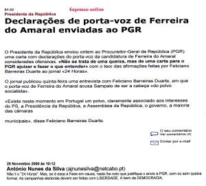 0435 queixa de Sampaio -Expr onl 25-11-2000