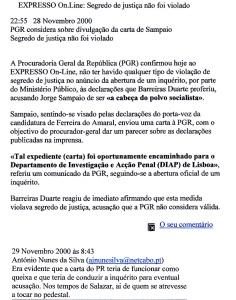 0440 segredo de justiça -Expr onl 29-11-2000