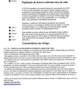 0461 Operações no Kosovo -Expr onl 30-12-2000