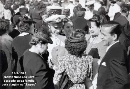 00006 943-09-19  cadete Nunes da Silva despede-se da família para viagem da Sagres