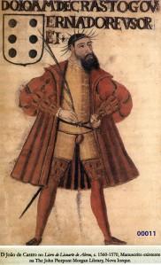00015 retrato de D João de Castro do livro de Lisnarte de Abreu
