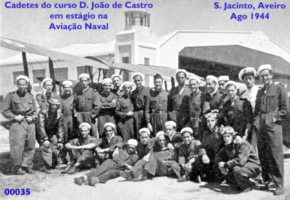 00039 944-08 cadetes estagiando na Escola de Aviação Naval-S Jacinto-Aveiro