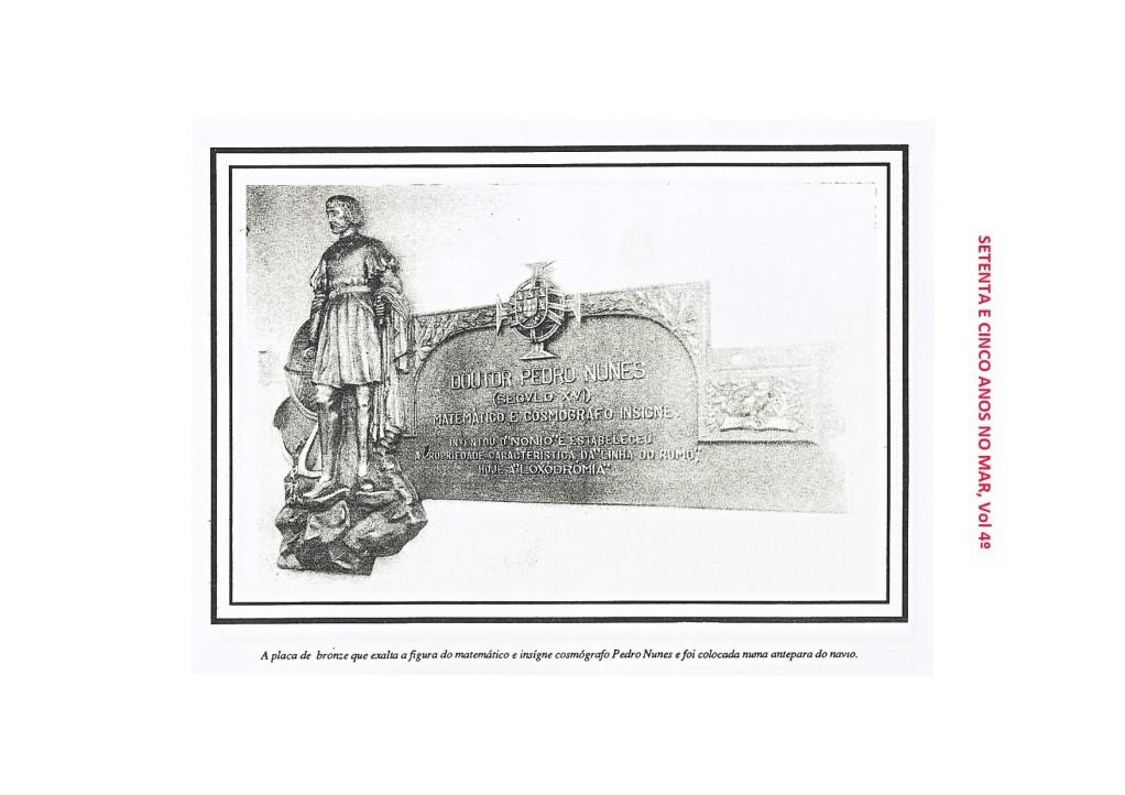 00081 Placa do Pedro Nunes -Setenta e Cinco Anos no Mar, vol 4