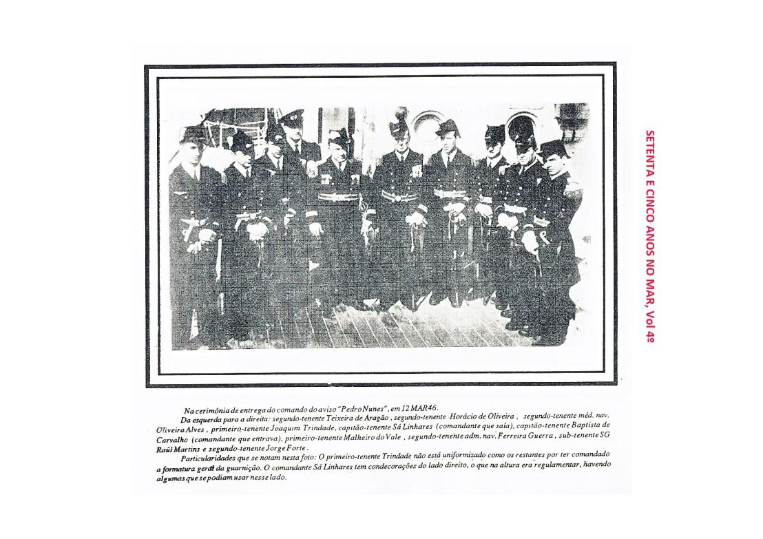 00082 Oficiais na viagem do Pedro Nunes -Setenta e Cinco Anos no Mar, vol 4