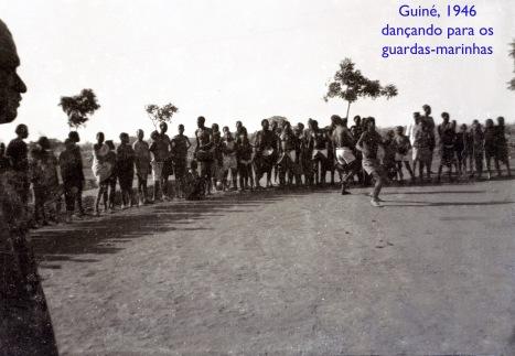00088 946-4 Guiné-dançando para os guardas-marinhas