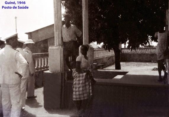 00089 946-04 Guiné-posto de saúde