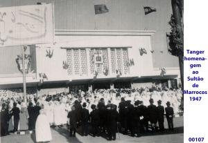 00141 947-04 homenagem ao Sultão de Marrocos em Tanger