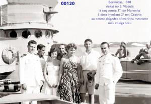 00158 948 Bermudas-oficiais e visitas do S Vicente