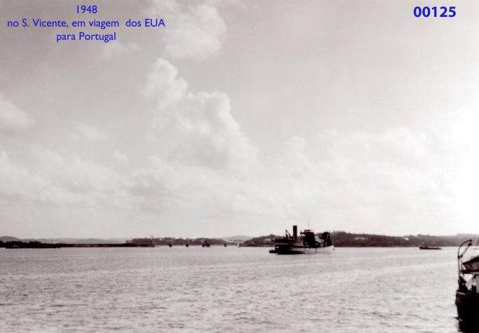 00163 948 em viagem no patrulha S Vicente dos EUA para Lisboa
