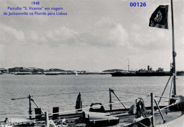 00164 948 em viagem no patrulha S Vicente dos EUA para Lisboa