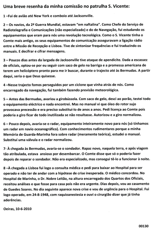 00168 10-06-10 Uma breve resenha da minha comissão no patrulha S Vicente