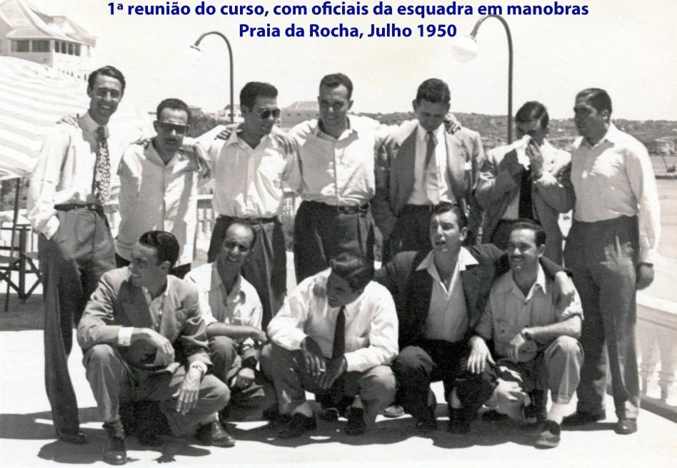 00190 950-07 foi a primeira reunião do curso com oficias da esquadra em manobras - Praia da Rocha