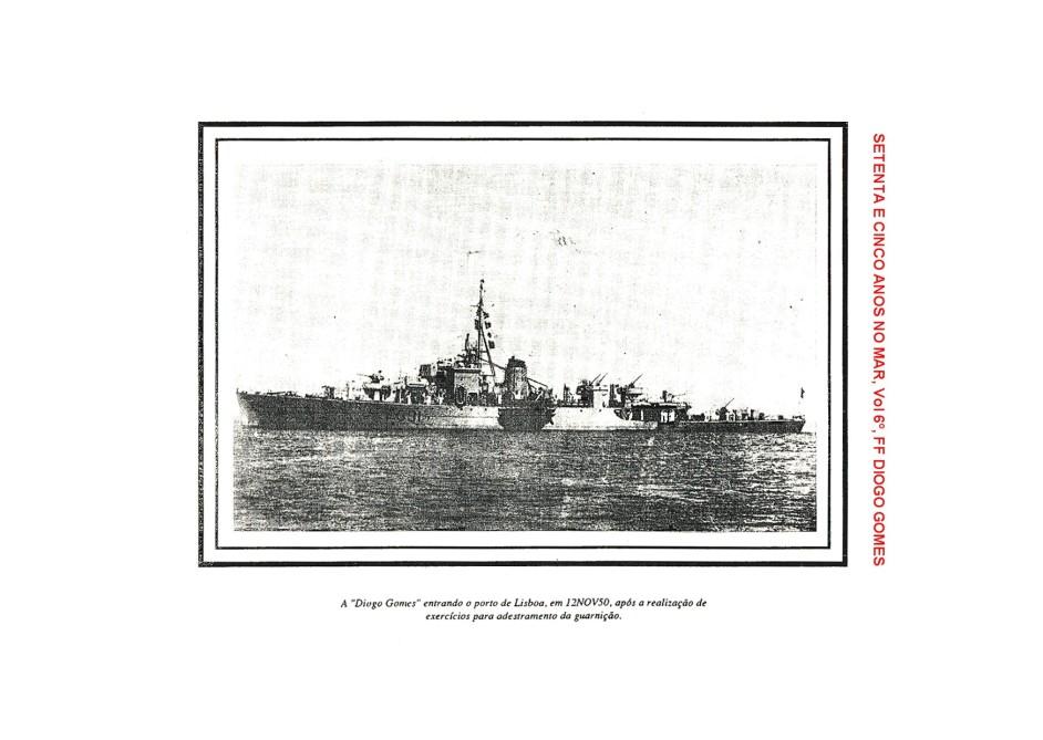 00206 FF  DIOGO GOMES em exercícios em Gibraltar com 2º ten Nunes da Silva -Setenta e Cinco Anos no Mar, Vol 6º
