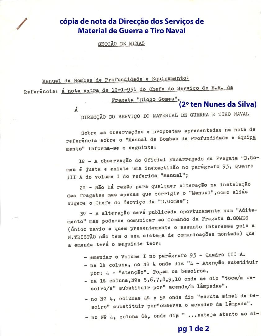 00209 51-01-24 nota da DSMGTN concordando com propostas minhas de alteração ao Manual de Bombas de Profundidade-pg 1 de 2