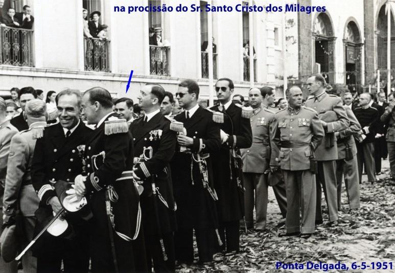00216 951-05-06 participação na procissão do Senhor Santo Cristo dos Milagres, Ponta Delgada