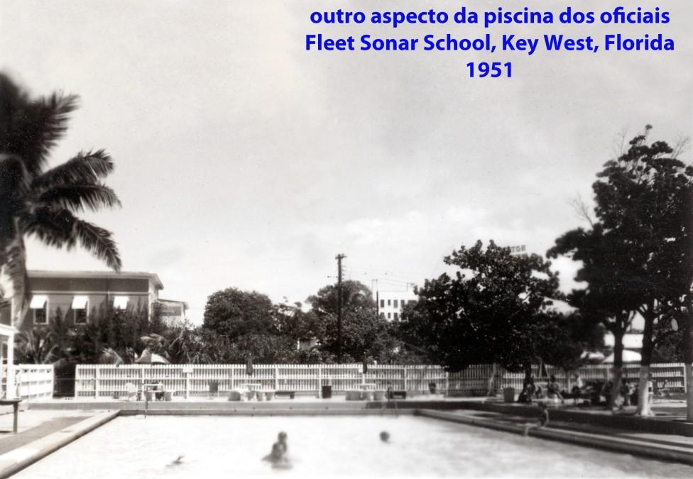 00224 951 a piscina dos oficiais da Fleet Sonar School em Key West - Florida - USA