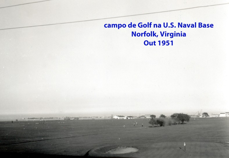 00232 951-10 campo de golf na Base Naval de Norfolk em Virginia