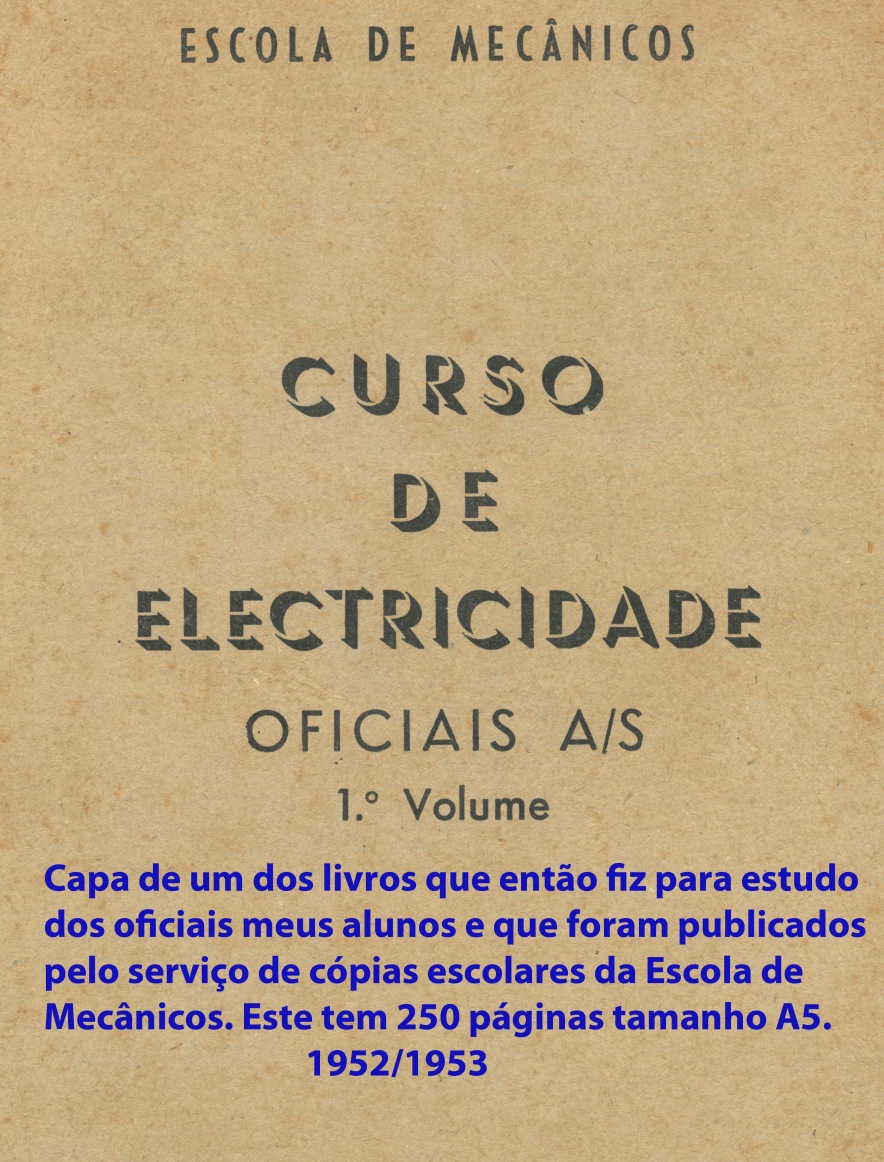 00244 952 Curso de Electricidade para oficiais AS Vol 1 - capa