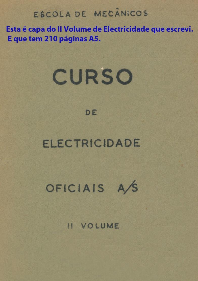 00247 952 Curso de Electricidade para oficiais AS Vol 2 - capa