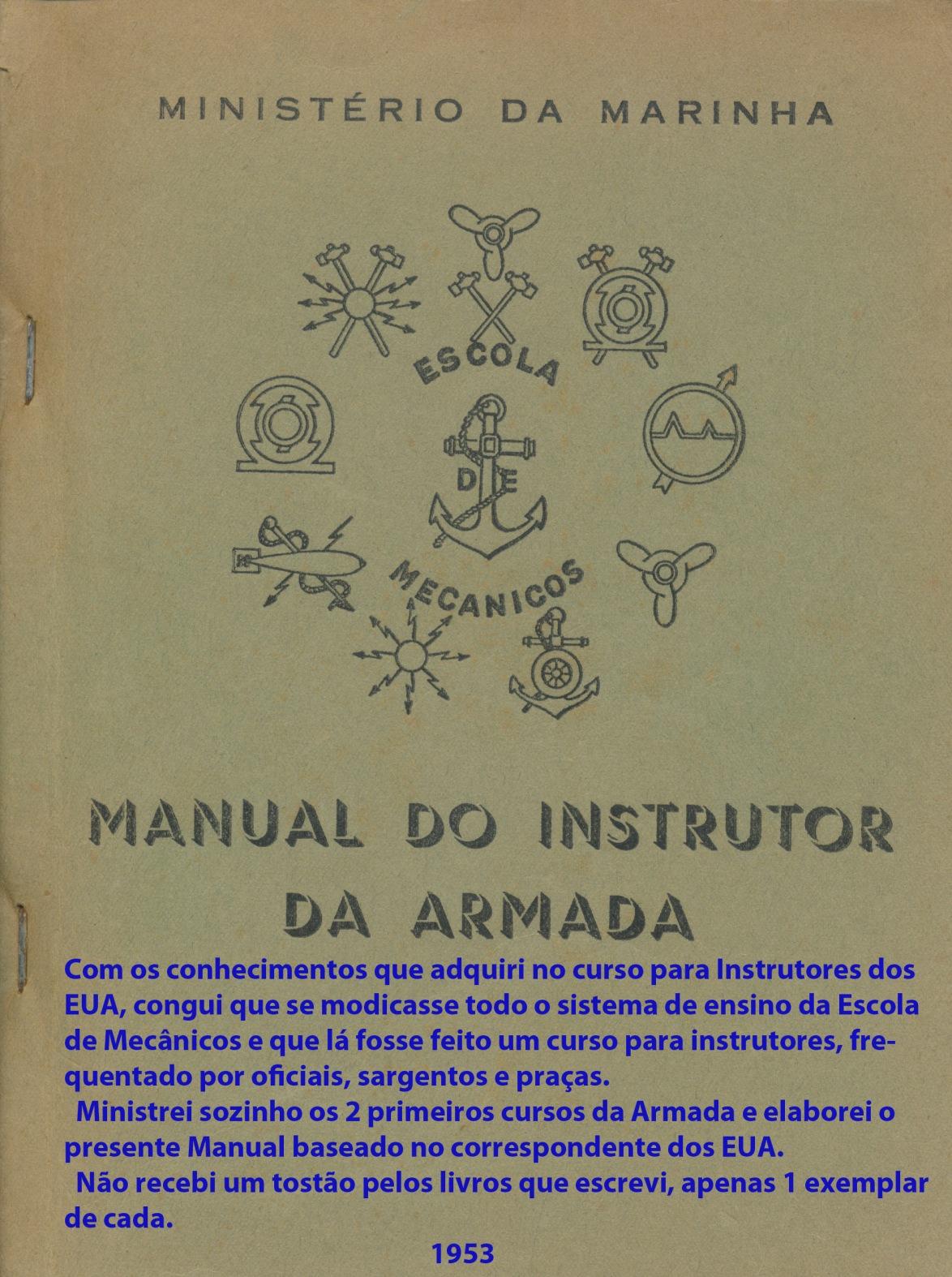 00256 953 Manual do Instrutor da Armada - capa
