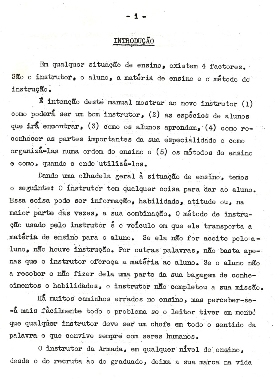 00258 953 Manual do Instrutor da Armada - a minha introdução pg 1 de 3